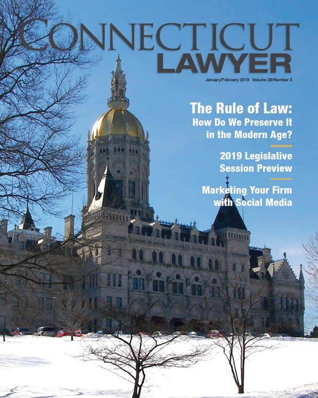 CT Lawyer JanFeb2019 Cover