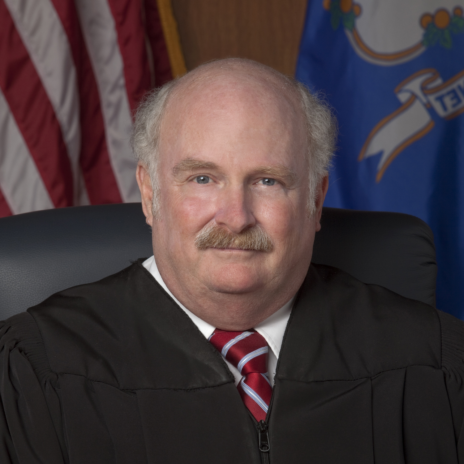 Retired Connecticut Appellate Court Judge Michael R. Sheldon presented the keynote speech for Law Day.