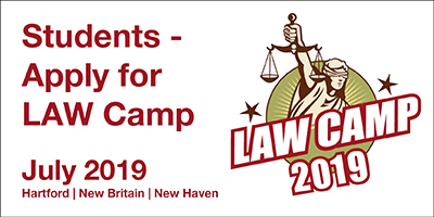 Students - Apply for LAW Camp 2019
