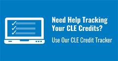 CLE Credit Tracker
