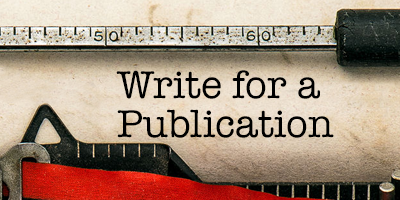 Write for a Publication