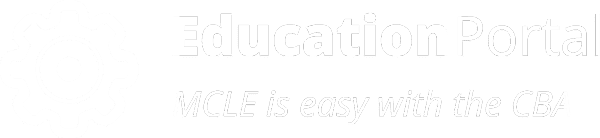Education Portal: MCLE is easy with the CBA